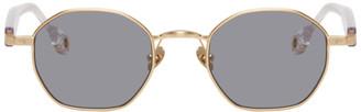 Études Gold Liberte Sunglasses
