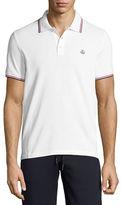 Moncler Tipped Piqué Polo Shirt