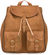 Saint Laurent Festival backpack - men - Leather/Suede - One Size