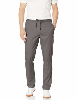 "Goodthreads Athletic-fit Washed Chino Drawstring Pant Grey XX-Large/30"" Inseam"
