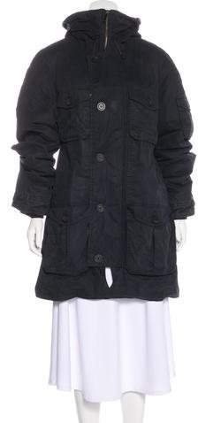 Givenchy Hooded Puffer Parka