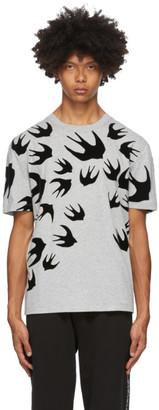 McQ Grey Swallows T-Shirt
