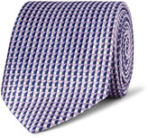 Dunhill 7.5cm Mulberry Silk-jacquard Tie - Lilac