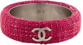 Chanel Tweed CC Bangle
