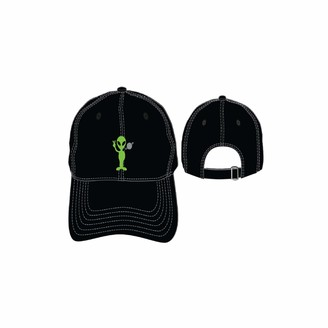 Concept One Men's Alien with Planet Embroidered Adjustable DAD Cap