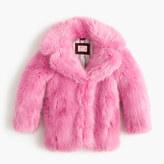 J.Crew Girls' faux-fur coat