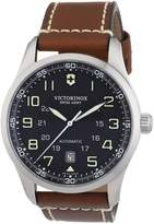 Victorinox Men's 241507 Air Boss Dial Brown Strap Watch