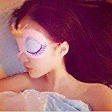 Adecco LLC Cute Sleeping Beauty Cartoon Eye Mask & Blindfold for Kid's Sweet Dreams Pink