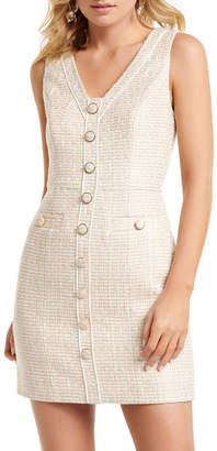 Forever New Gianna Boucle Mini Dress