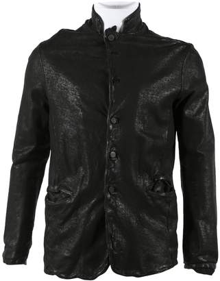 Giorgio Brato Black Leather Jackets