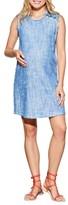 Maternal America Women's Sleeveless Maternity Dress