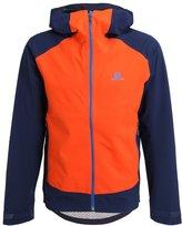 Salomon Nebula Hardshell Jacket Vivid Orange/big Bluex