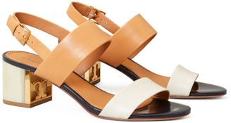Tory Burch Gigi Two-Tone Sandal
