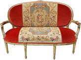 One Kings Lane Vintage Louis XVI-Style Giltwood Canapé