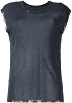 Zadig & Voltaire shinny trim T-shirt - women - Modal - S