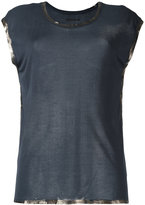 Zadig & Voltaire shinny trim T-shirt - women - Modal - XS