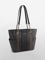 Calvin Klein Monogram Tote Bag