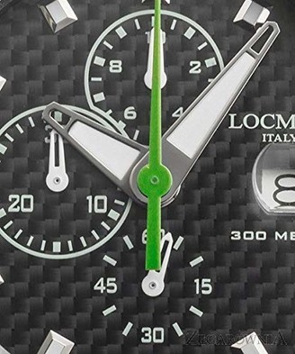 Locman Analog Quartz Watch with Stainless Steel Strap Clear 3 (Model: 4573282435946)