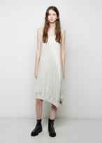 Y's Polka Dot Patchwork Dress