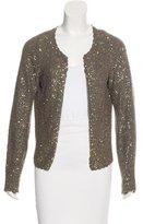Zadig & Voltaire Embellished Knit Cardigan