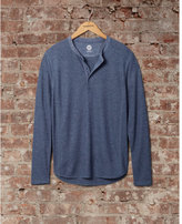 Express soft waffle knit henley