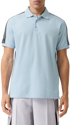 Burberry Stonely Logo Tape Short Sleeve Polo