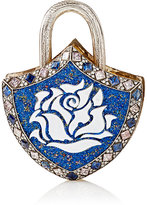 Sevan Biçakci Women's Mixed-Gemstone Large Shield Padlock