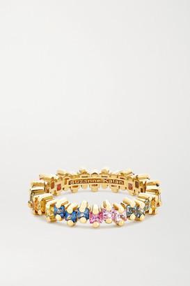 Suzanne Kalan 18-karat Gold Sapphire Ring - 7