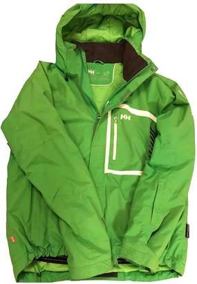 Helly Hansen Green Synthetic Jackets