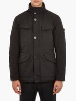 Stone Island Black David-tc Classic Field Jacket