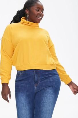 Forever 21 Plus Size Turtleneck Pullover