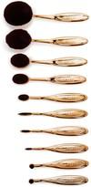 Blend Mineral Gold Wow Artist 10-Piece Brush Set