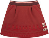Scotch R'Belle FOLKLORIC-EMBROIDERED NEOPRENE SKIRT