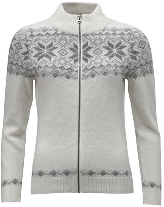 ICEWEAR Nott Angora Blend Warm Sweater | 70% Wool High Collar Jumper | Breathable Knit Designs Full Zip Cardigan Blue