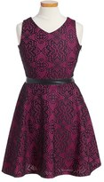 Menu Girl's Lace Skater Dress