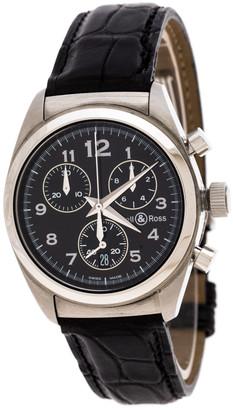 Bell & Ross Black Stainless Steel 220 S Women's Wristwatch 31MM