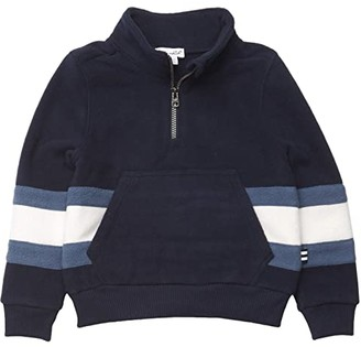 Splendid Littles Polar Fleece 1/2 Zip Pullover (Toddler/Little Kids/Big Kids) (Sky Captain) Boy's Clothing