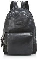 John Varvatos Gibson Double Zip Backpack