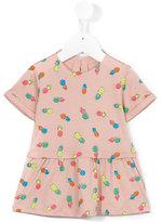 Stella McCartney pineapple print dress - kids - Cotton - 3 mth