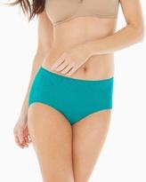 Soma Intimates Vanishing Tummy Paisley Lace Modern Brief
