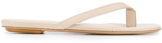 Gia Couture x Pernille Teisbaek thong strap sandals