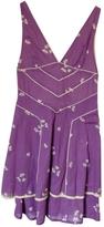 Marc Jacobs Purple Cotton Dress
