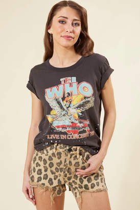 Chaser The Who Graphic Tee Black XS