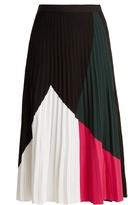 Proenza Schouler Pleated crepe-jersey skirt