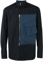 Oamc zipped cargo pocket shirt - men - Cotton - M
