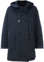 Moncler hooded mid-length coat - women - Polyester/Spandex/Elastane - 2