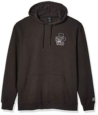 RVCA Men's Pick Your Battles Pull Over Hoodie