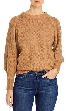 Elan International Puff Sleeve Sweater