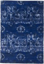 "Ecarpetgallery Handmade Cosmopolitan 5'0"" x 8'0"" Wool/Silk Rug, Dark"