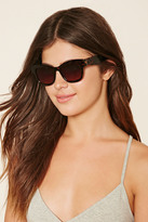 Forever 21 FOREVER 21+ Thick-Framed Square Sunglasses